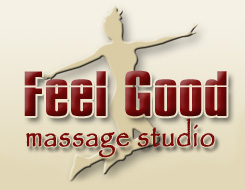Logo Feel Good Studio Massage